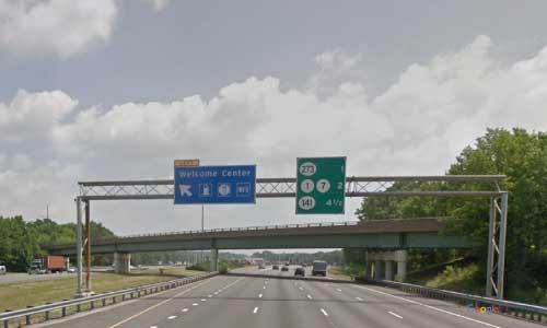 de interstate 95 delaware i95 turnpike service plaza welcome center northbound mile marker 5 exit
